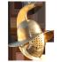Trák gladiátor sisak (lelet után)